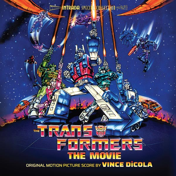 Transformers The Movie The Score Cd