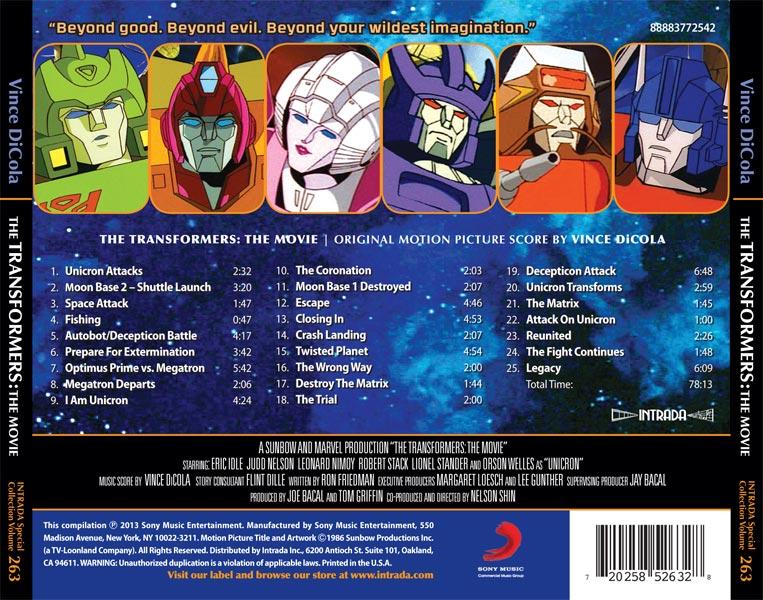 [CD & Vinyle] Bande-sonore/Musiques de Les Transformers Le Film (1986) + série Les Transformers (G1) + TF au Japon Media